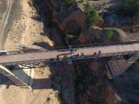 Veduta aerea del ponte