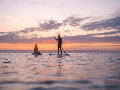 Paddle Surf sulla spiaggia di Somorrostro