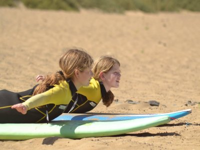 Curso de surf en Corralejo 5 días