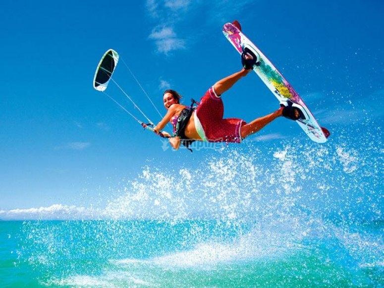 Kitesurf guay