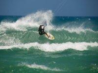 Adrenalina y kitesurf