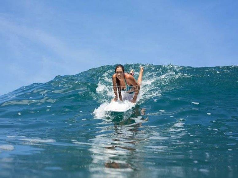 Tu puedes surfear tambien
