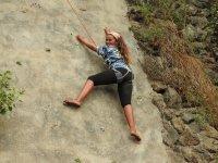 Escalando en vertical