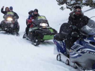 Skicenter Baqueira Motos de Nieve