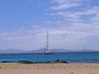 Barca a vela a Lanzarote