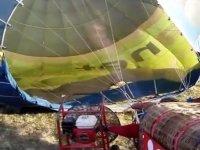 Inflado del globo aerostático