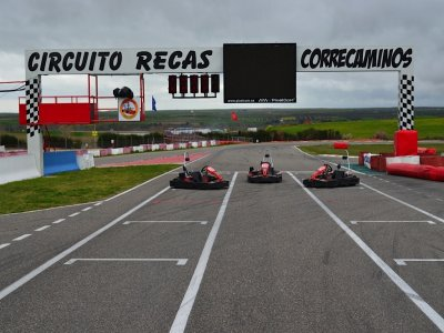 Karting Club Correcaminos Team Building