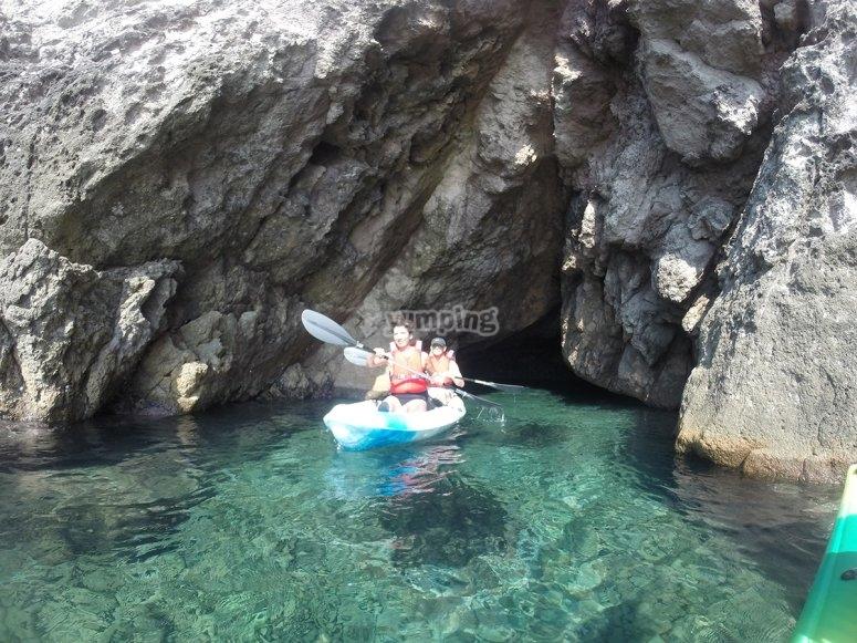 皮划艇在洛斯埃斯库洛斯