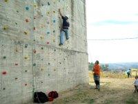 Ascendiendo por los boulders