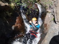Canyoning in Almeria for groups