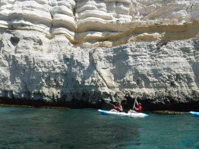 从Agua Amarga到Cabo de Gata的皮划艇路线