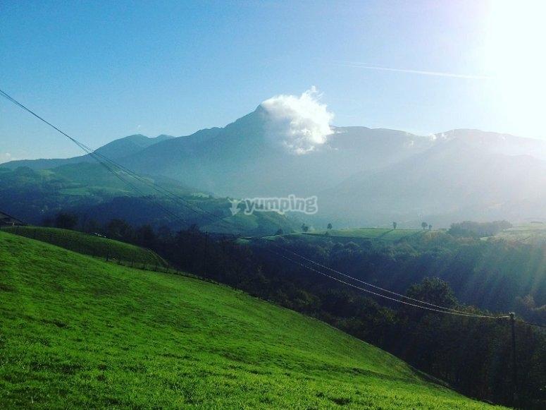 Paesaggi della Zaldibia
