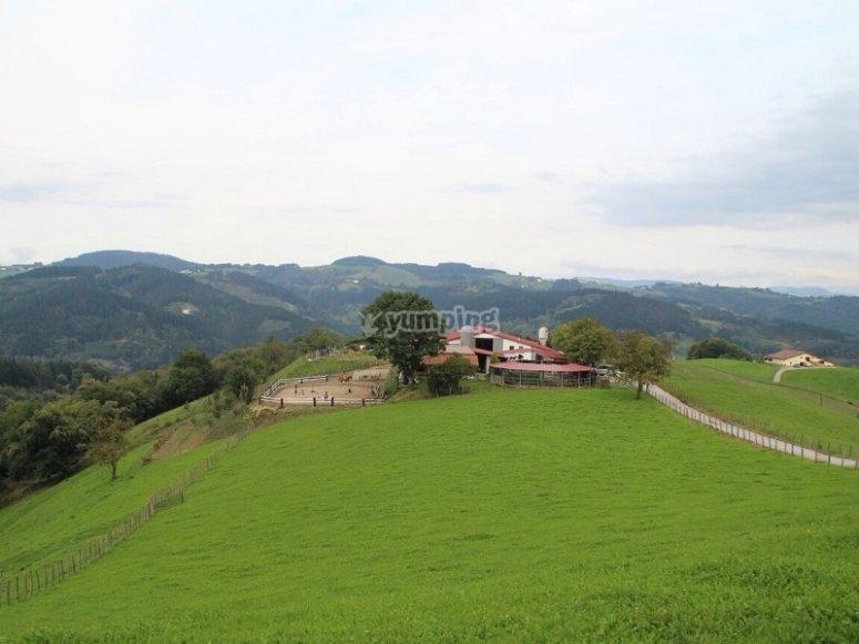 Paesaggi di Guipúzcoan