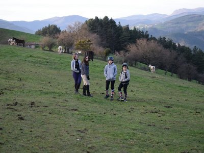Day Horse Riding Camp in Guipuzkoa, 2 Weeks