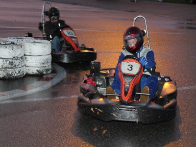 Team Building on Go Karts in Jávea