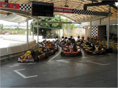 Karting per team building a Jávea