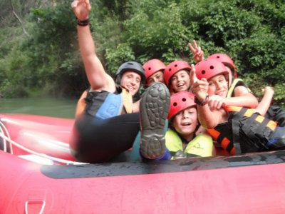 Rafting en Cazorla por 3 horas nivel intermedio