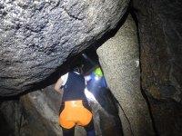 recorriendo las grutas