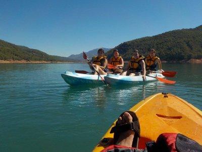 Kayaking en aguas tranquilas por el Guadalquivir
