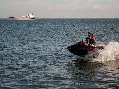Giro in moto d'acqua a due posti sulla Costa Dorada