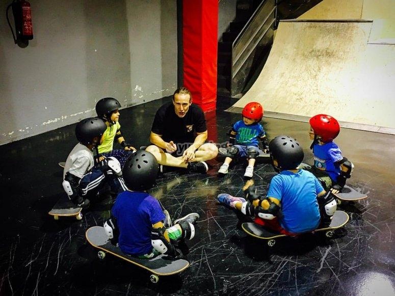 Clases de skating