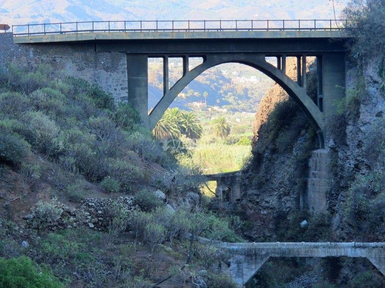 Puente para los saltos