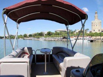 Ruta en barco para parejas por el Guadalquivir