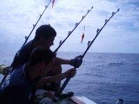 Equipados para pescar