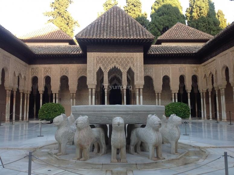 Patio en alhambra
