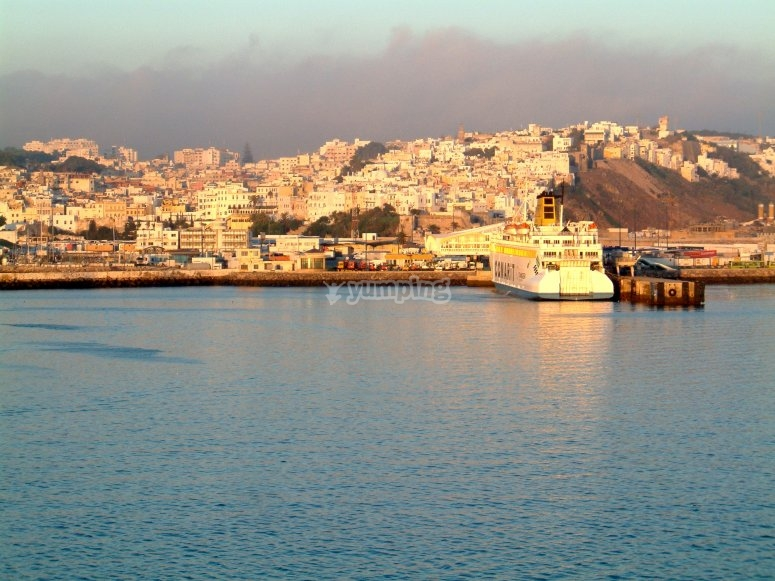 View of Tangiers