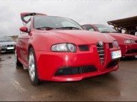 Modelo rojo de Alfa Romeo
