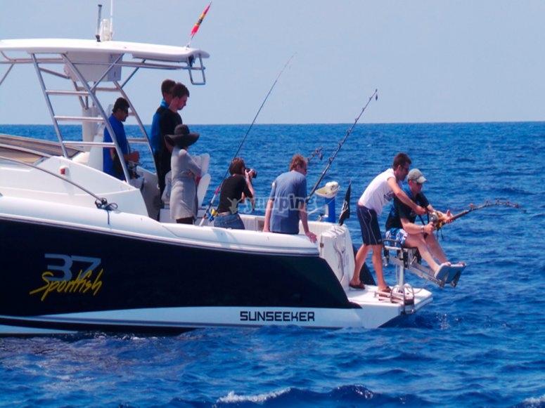 Paseos y pesca