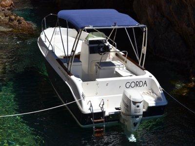 Alquiler de barco Marinello Eden en la Costa Brava