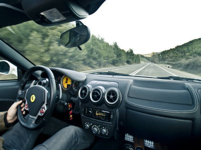 20km Ferrari F430 driving in Cordoba