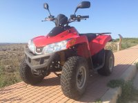 Two-seater quad outings in Ciudadella