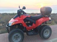 Rent your quad 250cc in Menorca