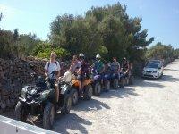 Guided quad tour through Menorca