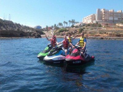 Noleggia una moto d'acqua GTR nel Mar Menor 1 giorno