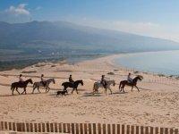 Montar a caballo en Tarifa en verano 90 minutos
