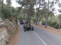 Curveteamos by Majorcan road