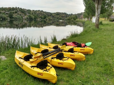 30 Mins Canoe Rental in Ledesma
