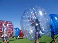 Fun with bubble football