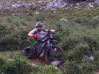 First country route with the Bultaco Brinco