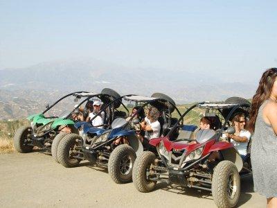 Tour on buggy + Pottery tour in Málaga