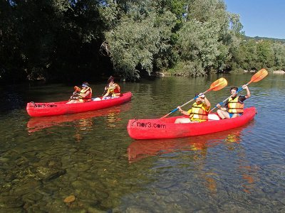 Canoeing For Schoolchildren at Asón River