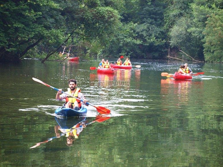 Canoas de Udalla a Ampuero