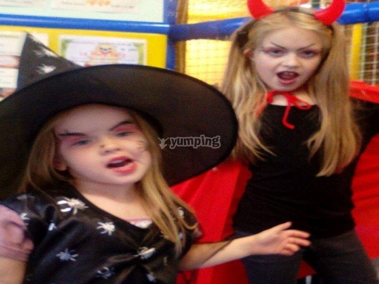 Fiesta de disfraces para ninos