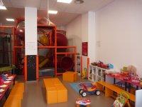 la zona de juguetes