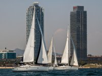 Regata en veleros para Team Building Barcelona