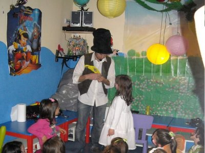 Birthday party with games for kids in Madrid